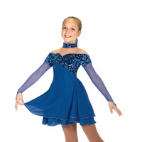 Jerry's Ice Skating Dress   - 463 Empire Blues