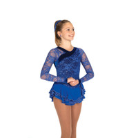 Jerry's Ice Skating Dress   - 464 Romantic Lace (Royal Blue)