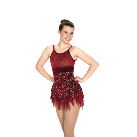 Jerry's Ice Skating Dress   - 479 Flame & Fortune