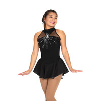 Jerry's Ice Skating Dress   - 491 Stoneburst (Black Onyx)