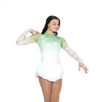 Jerry's Ice Skating Dress   - 492 Snow fade (Emerald Ice)