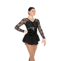 Jerry's Ice Skating Dress   - 496 Luxurelle (Black Diamond)