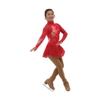 Jerry's Ice Skating Dress   - 534 Flamestone