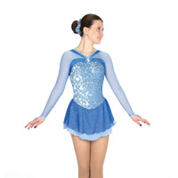Jerry's Ice Skating Dress   - 537 Kew Blue