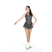 Jerry's Ice Skating Dress   - 548 Pewter Panache