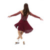 Jerry's Ice Skating Dress   - 566 Tango & Twirl Dance (Deep Wine)