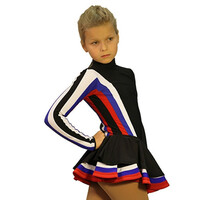 IceDress Figure Skating Outfit - Thermal - Star (Triple Color)