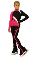 IceDress - IceDress Figure Skating Outfit - Thermal - Split (Fuchsia)