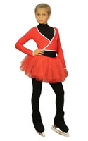 IceDress Figure Skating Outfit - Thermal - Fuete (RED)