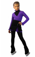 IceDress Figure Skating Outfit - Thermal - Rogue (Purple)