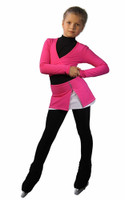 IceDress Figure Skating Outfit - Thermal - Rogue (Pink)