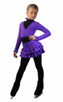 IceDress Figure Skating Outfit - Thermal - Lambada (Purple)