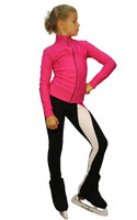 IceDress Figure Skating Outfit - Thermal - Twizzle-8 ( Fuchsia)