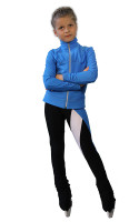 IceDress Figure Skating Outfit - Thermal - Twizzle-8 (Blue)
