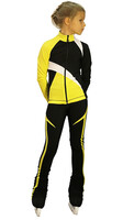 IceDress - IceDress Figure Skating Jacket - Split (Yellow)