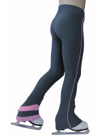 IceDress - Sweatpants -  Rays (Gray with Pink Lines)