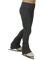 IceDress - Sweatpants - Drape (Gray with Pink stitching)