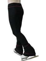 IceDress - Sweatpants - Drape (Black with Red stitching)
