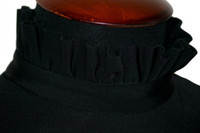 IceDress - Thermal Body (Black with Ruche)