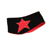 "IceDress - Two-Color Thermal Figure Skating Wide Headband ""Starlet"""