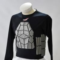 Zoombang Shirt 3 Piece Padded Tactical/Ballistic Shirt, Black