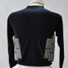 Zoombang Shirt 3 Piece Padded Tactical/Ballistic Shirt, Black 3rd view