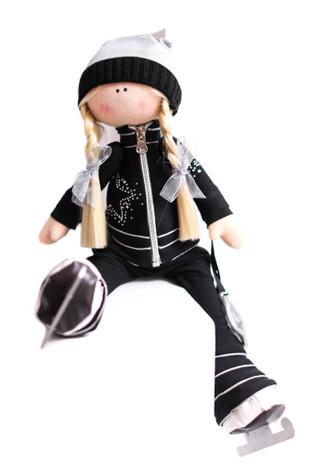 Tilda Doll by IceDress- Figure Skater - Silver Star