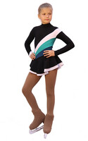 IceDress Figure Skating Dress - Thermal - Camel Spin (White, Mint,  Turquoise)
