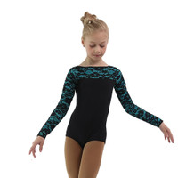 IceDress Thermal Body - Harmony ( Black with Turquoise)
