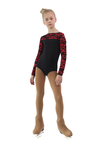 IceDress Thermal Body - Harmony ( Black with Hot Coral)