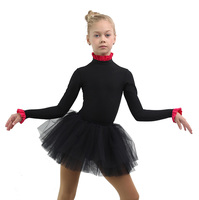 IceDress - Thermal Body  (Black with Red Flounce)