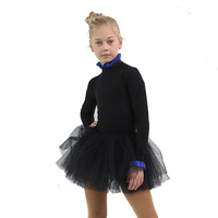 IceDress - Thermal Body  (Black with Cornflower Flounce)