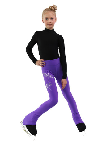 IceDress - Thermal Pants - Dragonfly (Purple)