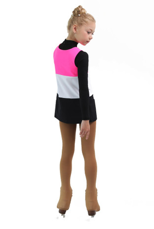 IceDress - Thermal Sundress - Rainbow (Hot Pink, White, Black)