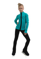 IceDress Figure Skating Jacket - Thermal - Kant (Mint with Black)