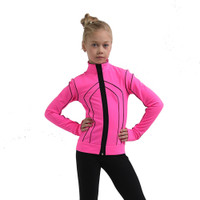 IceDress Figure Skating Pants - Thermal - Kant (Hot Pink with Black)