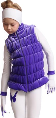 IceDress Figure Skating Vest - Thermal - Velvet (Purple)