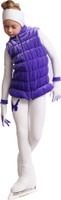 IceDress Figure Skating Vest - Thermal - Velvet (Purple)