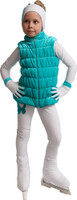 IceDress Figure Skating Vest - Thermal - Velvet (Mint)