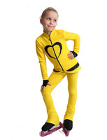 IceDress Figure Skating Outfit - Thermal - Tutti Frutti(Yellow, Black)