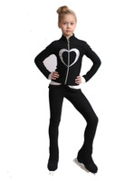IceDress Figure Skating Outfit - Thermal - Tutti Frutti(Black with Silver)