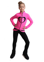 IceDress Figure Skating Outfit - Thermal - Tutti Frutti(Hot Pink with Black)