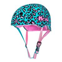 Moxi Helmet - Blue Leopard