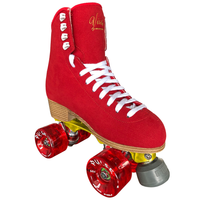 Jackson Vista Falcon Alloy Skate Package (Red Wheels)