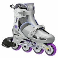 Cobra Girls Size Adjustable Inline Skates (Grey/Purple