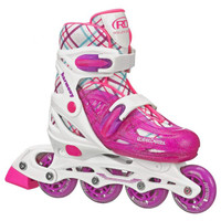 Roller Derby - Harmony Girl's Inline Skates - Adjustable Size (3-6)