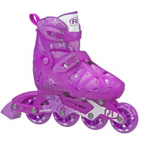 Roller Derby - Tracer Girl's Adjustable Inline Skates (Purple)