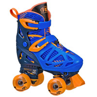 Roller Derby - Boys Adjustable Quad Roller Skates (Adjustable Size 3-6)