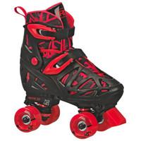 Roller Derby Recreational Roller Skates - Trac Star Youth Boy's Adjustable Roller Skate