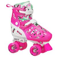 Roller Derby Recreational Roller Skates - Trac Star Youth Girl's Adjustable Roller Skate